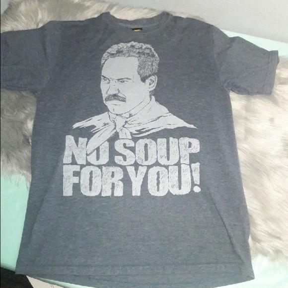 Seinfeld No Soup For You ShirtSize M